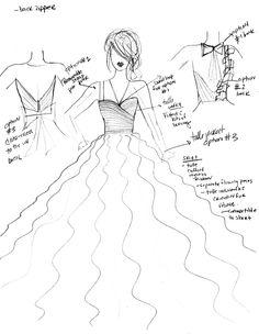 Sketches - #ChavianoCouture