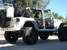 Lifted&Tires. Jeep Wrangler.