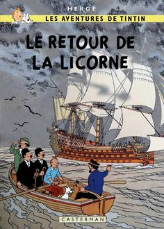 Tintin : The Return of the Unicorn by Bispro.deviantart.com on @DeviantArt