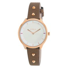If you like keeping up with the latest fashion and accessory trends, buy Ladies' Watch Furla mm) at the best price.Gender: LadyType of movement: QuartzDiameter of the box: 31 mmWatch face colour: WhiteBracelet material: Leathe. Furla, Leather Box, Black Leather, Hermes, Liu Jo, Watch Faces, Cool Things To Buy, Stuff To Buy, Clothing Websites