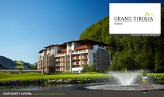 Grand Tirolia Hotel Kitzbuhel, Curio Collection by Hilton Luxury Spa Hotels, First Class Hotel, Spa Lounge, Wellness Resort, Outdoor Spa, Massage Room, Golf, Spa Treatments, Workout Rooms
