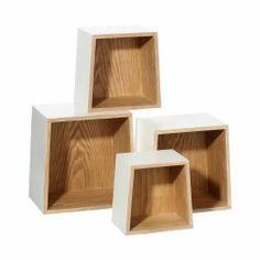 Estante auxiliar blanco Arco iris #LolaDerek #deco #oficina #decoration #home #shoponline #tiendaonline #style #wood #madera http://goo.gl/awBfei