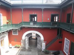 Patio Principal - Casa Riva Agüero