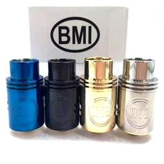 BMI RDA Atomizer Gold Plated Electrodes Material 510 Thread Coil Replaceable Electronic Cigarette Bmi Mini Box Mechanical Mods DHL Free Online with $7.52/Piece on Daryo123's Store | DHgate.com