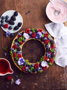 Découvrez la recette de la tarte couronne, la nouvelle star de votre été #healthy