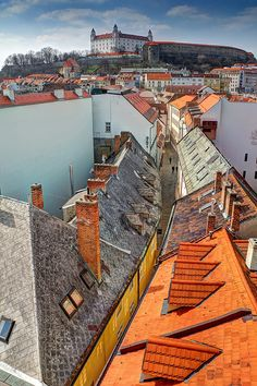 All things Europe — Bratislava, Slovakia (by Davide Seddio) Travel Sights, Places To Travel, Places To See, Luxury Travel, Travel Usa, Monuments, European River Cruises, Bratislava Slovakia, Travel Images