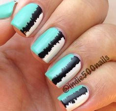 Cute striped nails