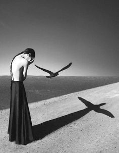 Self-portrait by Noell S. Oszvald, age 22. Noell only began taking photographs a year before this was taken…there is still hope for all you late bloomers out there! Photography   Art   Inspiration   Katharine Kidd