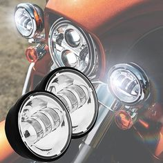 2 Pcs X LED Auxiliary Spot Light Fog Lamp Running Light inch Moto Fog Lamp for Harley Touring Road King Electra Glide Mazda 3 White, Motorcycle Lights, Motorcycle Gear, Ultra Classic, Electra Glide, Harley Davidson Bikes, Led Headlights, Car Lights, Motorcycle Accessories