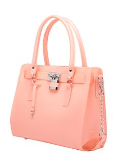 Mirabella frosted jelly tote - melie bianco