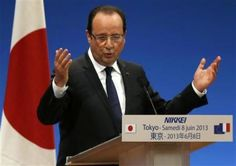 France's #Hollande says #EU, #China must resolve trade disputes
