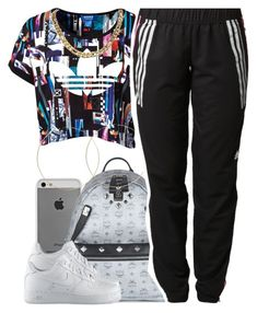 """july 23 2k14"" by xo-beauty ❤ liked on Polyvore featuring adidas Originals, Case-Mate, MCM, ASOS, adidas and NIKE"