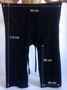 Extra Long Thai Fisherman Pants White