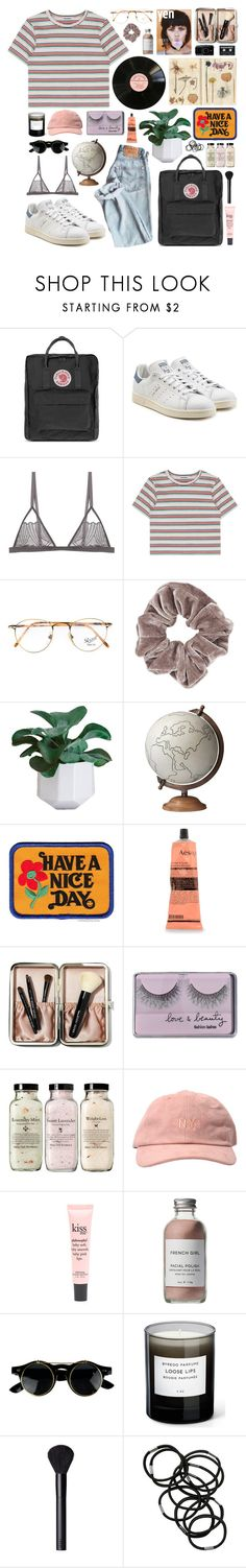 """says he made the big mistake of dancing in my storm."" by alterlove ❤ liked on Polyvore featuring Fjällräven, adidas Originals, Cosabella, Persol, Topshop, Jamie Young, Have a Nice Day, Aesop, Bobbi Brown Cosmetics and Forever 21"