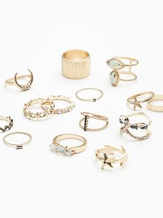 Riri Mega Ring Set  from Free People!