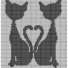 Cross Stitch Patterns Free - Knittting C - Diy Crafts - Marecipe Cat Cross Stitches, Cross Stitch Books, Cross Stitch Heart, Cross Stitch Borders, Cross Stitch Flowers, Cross Stitch Kits, Cross Stitch Designs, Cross Stitching, Cross Stitch Embroidery