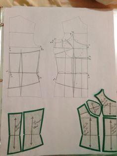 All things sewing and pattern making sewing patternmaking draft patterns patternconstruction fashion bustier – artofit – Artofit Corset Sewing Pattern, Bra Pattern, Dress Sewing Patterns, Clothing Patterns, Aya Couture, Sewing Collars, Pattern Draping, Underwear Pattern, Pattern Cutting