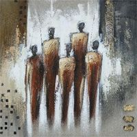Get Your Art Collections Abstract Painting Techniques, Abstract Art, Indian Paintings, People Art, Mixed Media Canvas, Surreal Art, Figure Painting, African Art, Traditional Art