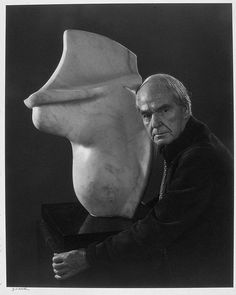Henry Moore- Photographed by Yousuf Karsh - 1973.