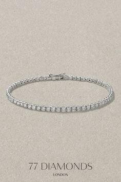 |Diamond Bracelet| Our selection of timelessly elegant bracelets will sit delicately on her wrist to provide her with an extra touch of glamour and sparkle ✨💎  #blackfriday #blackfridaysale #diamondaccessories #diamondjewellery #sale #bracelet #giftideas #giftforher #my77diamonds 77 Diamonds, Amazing Women, Gift Guide, Diamond Jewelry, Black Friday, Sparkle, Glamour, Touch, Elegant