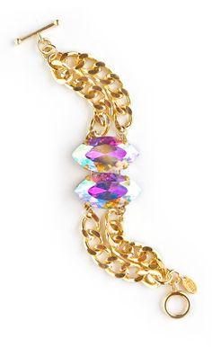 Chunky jewel bracelet