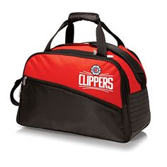 NBA Los Angeles Clippers Stratus Insulated Cooler Duffel, Red