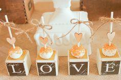 Pretty cake pops at a Bridal Shower #bridalshower #cakepops