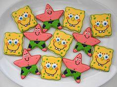 Spongebob & Patrick cookies