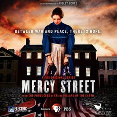 PBS recently announced that an award-winning cast for 'Mercy Street', a new drama based on a Civil War era hospital in Alexandria, Virginia.