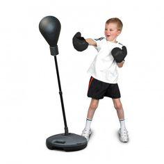 Saco de Boxeo de Pie con Guantes para Niños - Regalos al Mejor Precio