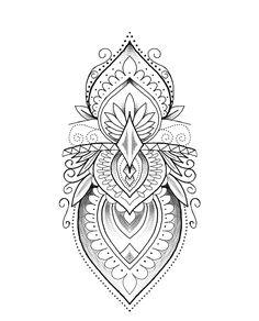Simple Mandala Tattoo, Dotwork Tattoo Mandala, Yantra Tattoo, Mandala Tattoo Design, Henna Tattoo Designs, Mandala Hand Tattoos, Tattoo Femeninos, Tattoo Set, Cover Up Tattoos