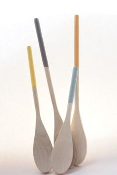 """""""love these wooden spoons....lovely colors"""""""