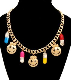 Glitz-N-Glorie - Pills N Potions Necklace, $16.00 (http://www.glitznglorie.com/pills-n-potions-necklace/)
