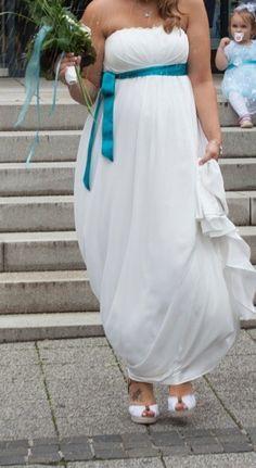 ♥ Brautkleid / Umstandskleid ♥  Ansehen: http://www.brautboerse.de/brautkleid-verkaufen/brautkleid-umstandskleid/   #Brautkleider #Hochzeit #Wedding