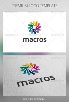 Macros - Abstract Logo Template #GraphicRiver Macros: a multipurpose logo can be used in technological companies in software development companies and applications, business enterprises, agencies and estudiso in design, printing press, among other uses. Its design is simple and easy to configure. Ready to print. Customizable 100% CMYK AI – EPS Font used Maven Pro Created: 3July12 GraphicsFilesIncluded: VectorEPS #AIIllustrator Layered: Yes MinimumAdobeCSVersion: CS Resolution: Resizable…