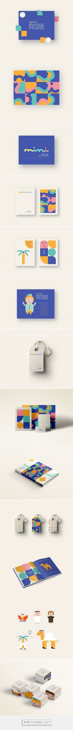 Mini Misque Branding on Behance | Fivestar Branding – Design and Branding…