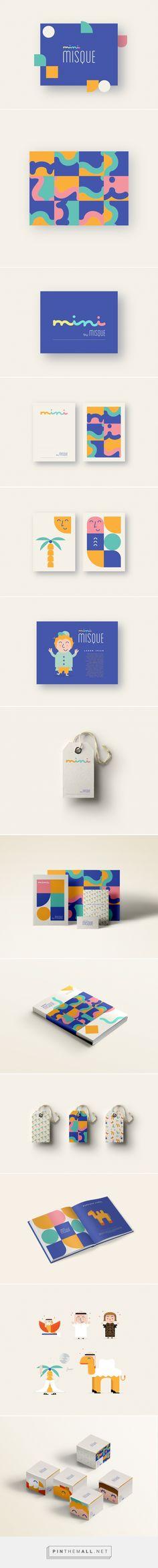 Mini Misque Branding on Behance | Fivestar Branding – Design and Branding Agency & Inspiration Gallery