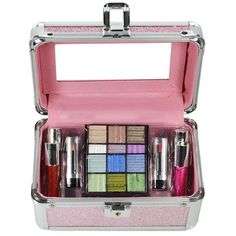 Fenzza Maleta de Maquiagem Super Star - BX011-N rosa