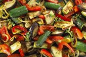 Roasted Veggies Recipe - South Beach Diet Recipe (Phase 1)