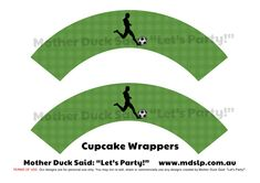 "Mother Duck Said: ""Lets Party!"": Soccer Party / Football Party"