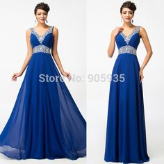 Cheap Bridesmaid Dresses, Buy Directly from China Suppliers:Free Shipping Grace Karin Stock Chiffon One Shoulder Pleated Blue Red Green Purple Long Formal Evening Dresses Floor Len