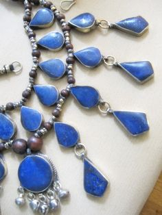 afgan lapislazuli gypsy jewelry  http://pinterest.com/eserege/art-that-inspire/