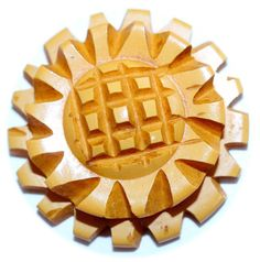 Bakelite Butterscotch Button Medium by KPHoppe on Etsy