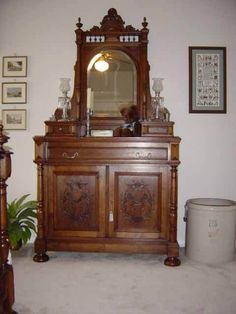 French antique dresser 1880s