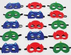 Party Pack 30 PJ masks birthday party favor, Kids Party Favor, Children Felt mask