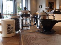 コーヒーの美味しい淹れ方を教えてくれるワークショップも開催しています。 おいしいコーヒー豆を手に入れたら是非淹れ方にもこだわってみて。