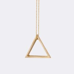 Brass Ornament - Triangle from Ferm Living
