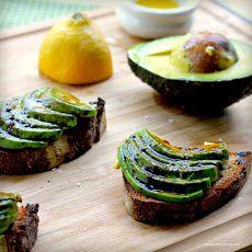 #avocado and #lemon #bruschetta