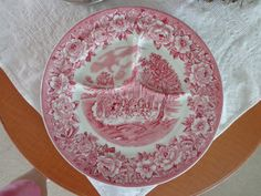 Shenango China Divided Plate Roselyn Pattern by ThePearlSwan, $11.00
