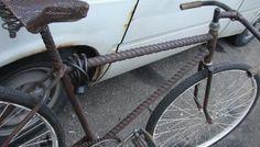 draadstaal fiets